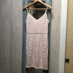 Guess blush pink dress.